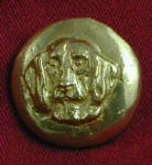 Frontal Foxhound Bronze Button