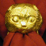 Scottish Fold Longhair Napkin Ring