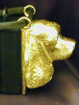 American Cocker Spaniel Clicker Pendant, side view