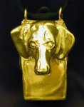 Dachshund Clicker Pendant, front view