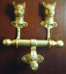 Alpaca Duet Door Knocker