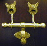 Fox Duet Door Knocker