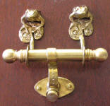 Frog Duet Door Knocker