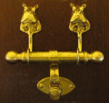 Hippo Duet Door Knocker