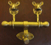Mouse Duet Door Knocker
