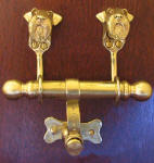 Airedale Terrier Duet Door Knocker