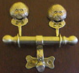 Bichon Frise Duet Door Knocker