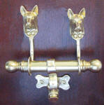 Belgian Malinois Duet Door Knocker