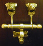 Boxer (natural) Duet Door Knocker