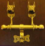 Boxer (cropped) Duet Door Knocker