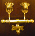 Bullmastiff 2009 Duet Door Knocker