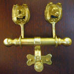 Collie Duet Door Knocker