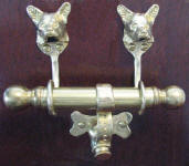 Corgi Duet Door Knocker