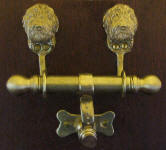 Lagotto Romagnolo Duet Door Knocker