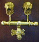 Newfoundland Duet Door Knocker