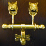 Norwich Terrier Duet Door Knocker