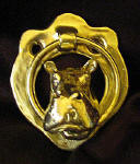 Hippo Small Door Knocker