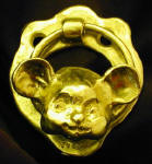 Cutesy Mouse Door Knocker
