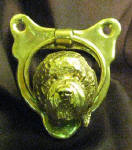 Goldendoodle (wavy) Small Door Knocker