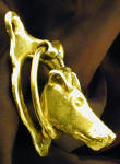 Smooth Fox Terrier Door Knocker, side view