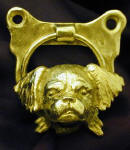 Tibetan Spaniel Door Knocker