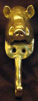 Large Boar's Head Hook