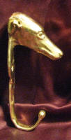 Large Greyhound J Hook, side view
