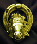 Icelandic Horse Small Door Knocker