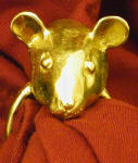 Mouse Napkin Ring