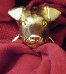 Jack Russell Terrier, smooth, Napkin Ring