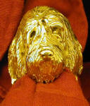 Otterhound Napkin Ring