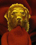 Tibetan Mastiff Napkin Ring
