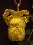 Brussels Griffon (natural ears) Ornament