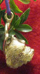 Norwich Terrier Ornament, side view