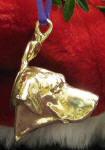Rhodesian Ridgeback Ornament, side view