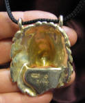 Lion Pendant, back view