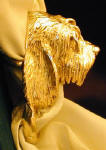 Otterhound Scarf Ring, side view