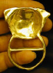Pug Scarg Ring, back view
