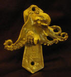 Octopus Solo Door Knocker