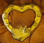 Cairn Terrier Heart Scarf Ring