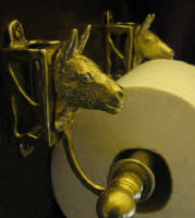 Donkey Toilet Paper Holder, side view