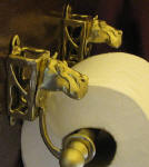 Toilet Paper Holder, side view