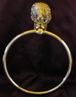 Lion Towel Ring