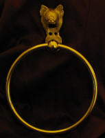 Chihuahua, long haired Towel Ring